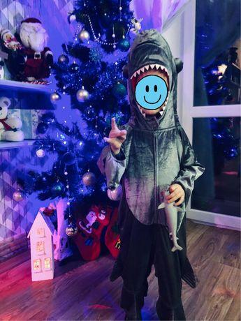 Костюм Акулы, акулёнок, карнавальный костюм, костюм на утренник