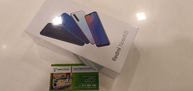 NOWY Telefon XIaomi Redmi Note 8T 4/128 GB Niebieski RENOMA Wrocław