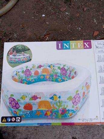Piscina Intex 191x178x61 com cobertura