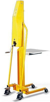 Posicionador de trabalho capacidade 100 kg Elevação 1500 mm