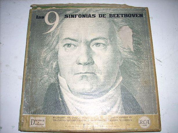 Las 9 Sinfonias de Beethovan - 7 Lp´s