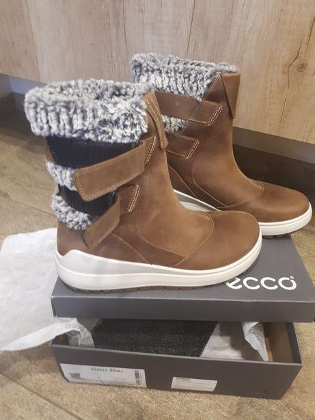 Сапоги, ботинки зимние, не промокают Ecco 40 размер