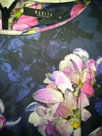 Sukienka mohito wiosna kwiaty