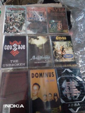 Продам кассеты moon records металл