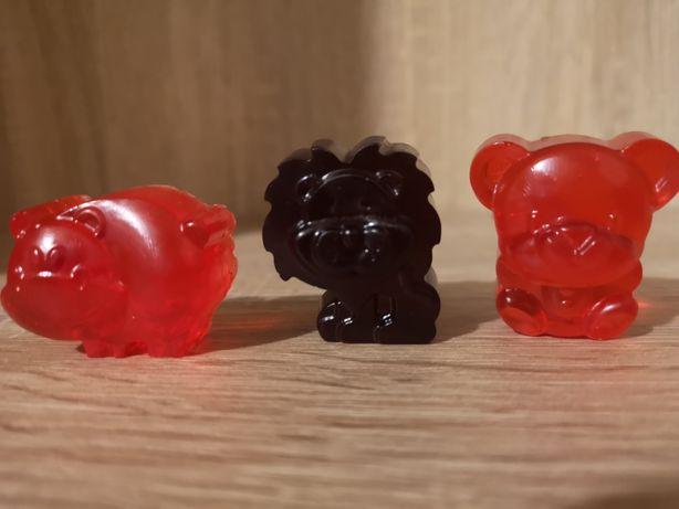 Śliczne małe zwierzątka z mydła