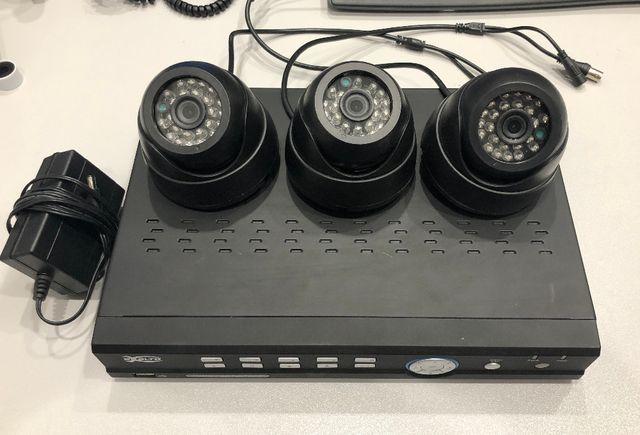 rejestrator monitoringu wizyjnego z 3 kamerami