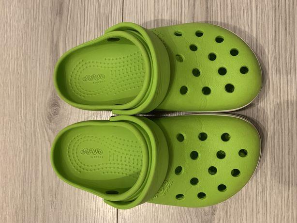Crocs C12 29-30 zielone