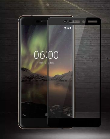 Защитное стекло Nokia 3 / 3.1 / 3.1+ / 5 / 5.1 / 6 / 6.1 / 7 / 7+ / 8