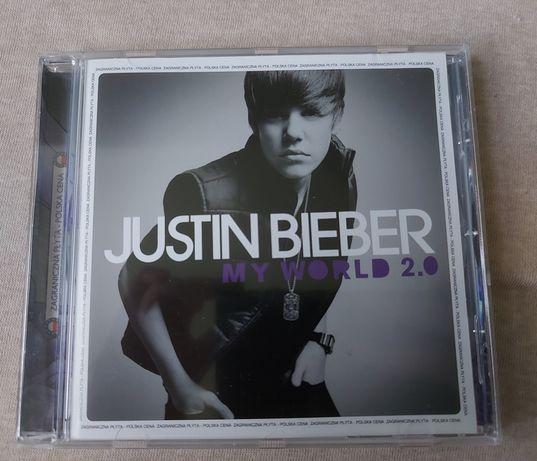 Płyta Justina Biebera My World