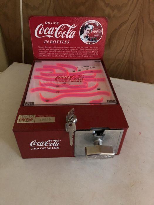 Coca cola. 1950. Jogo de balcão. USA Miranda do Douro - imagem 1