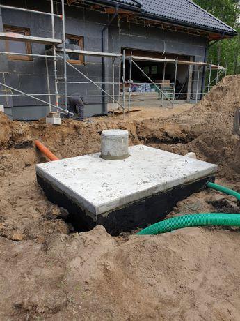 SZAMBO betonowe 6m3 kompletny montaż Białystok Podlaskie