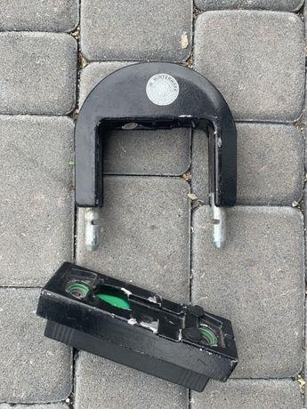 Zabezpieczenie haka przyczepy przyczepa kempingowa AXA 590 Holandia