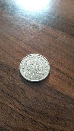 Moneta 50 groszy destrukt błąd.