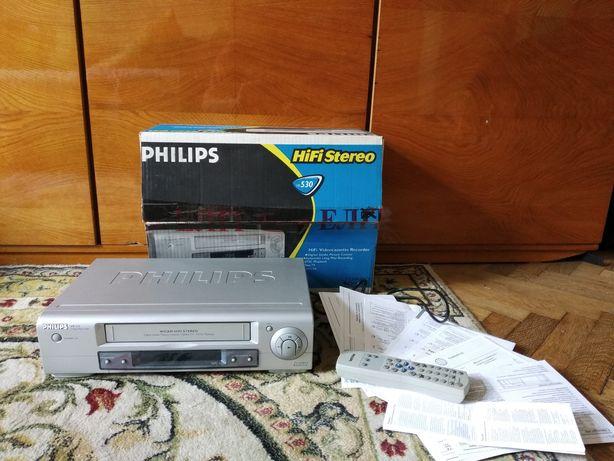 Відеомагнітофон видеомагнитофон Philips vr 530