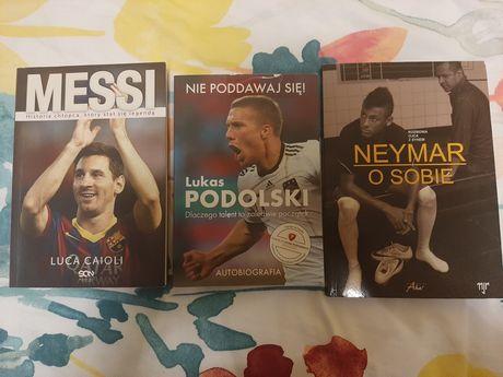 Neymar o sobie, Messi Chłopiec który stał się legendą, Lukas Podolski