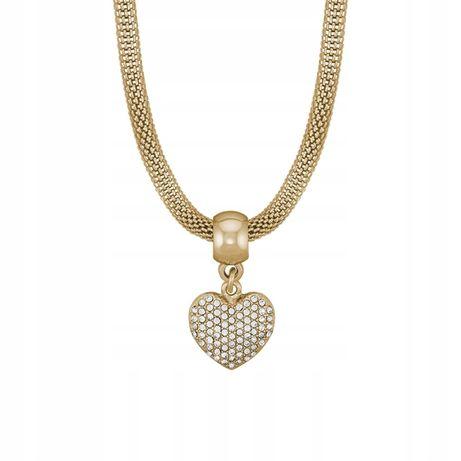 naszyjnik Avon serce kolor złoty