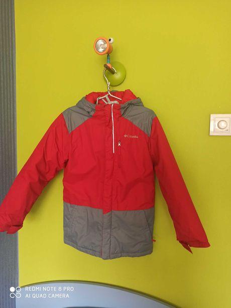Куртка термо, зима, Columbia, м-ка, на 10-12 лет