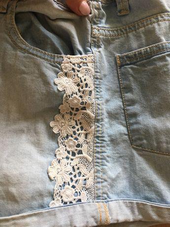 Джинсовые шорты подростковые  шорти джинсові
