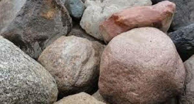Głazy kamienie na skalniak itp
