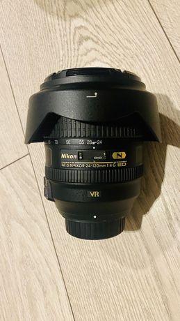 Nikon obiektyw AF-S NIKKOR 24-120mm f/4G ED VR jak nowy