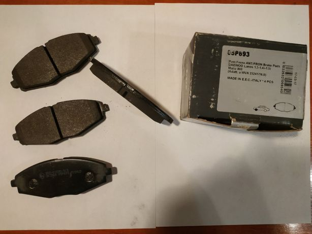 Тормозные колодки LPR 05P693 Ланос, Сенс