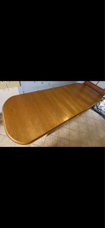 Stół rozkladany drewniany olcha. Uzywany. Stan bardzo dobry
