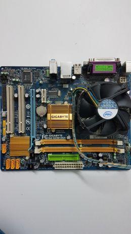 Motherboard Gigabyte+Processador