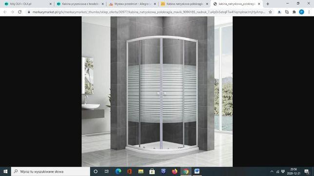 Kabina prysznicowa z brodzikiem nowe