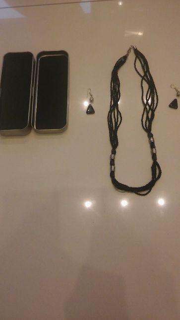 Biżuteria naszyjnik+ kolczyki