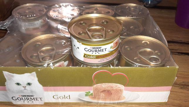 Purina Gourmet Gold z łososiem 20x 85g