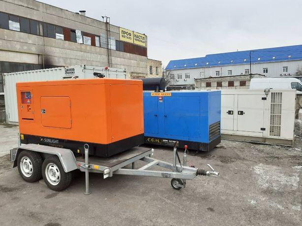 Дизельный генератор 20 кВА 1 и 3-фазы - в наличии от 5 до 1000 кВт