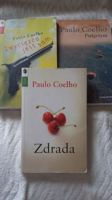 """""""Zdrada"""", """"Pielgrzym"""", """"Zwycięzca jest sam"""" Paulo Coelho"""