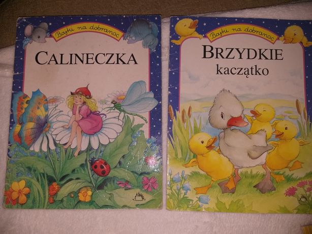 Dwie książeczki bajki
