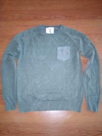 """Bluzka męska w kolorze zielonym firmy BLUE INC 1972 - rozm. """"S"""""""