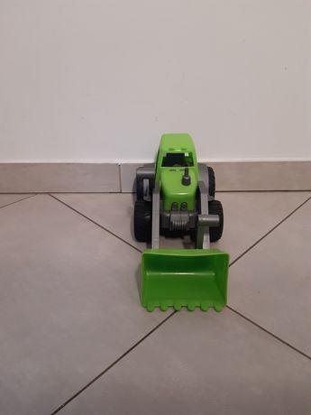 Zabawka zielona koparka