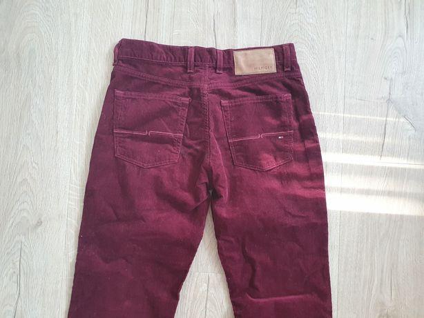 * Tommy Hilfiger * damskie spodnie - sztruksy - 30/32