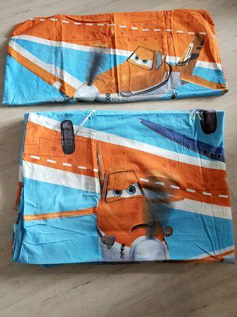 Pościel  poszewka poduszka Samoloty Disney