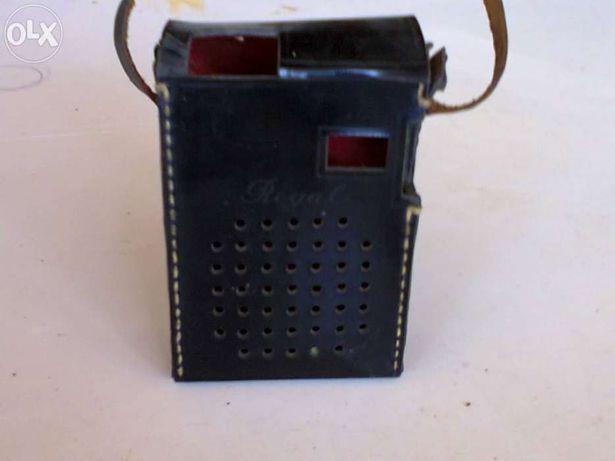 Capa para radio antigo em couro