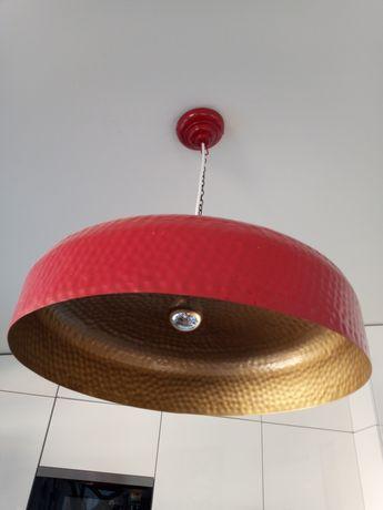 Candeeiro vermelho area store 60 cm diametro