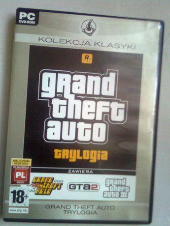 Grand Theft Auto Trylogia 1 2 3 PL na PC