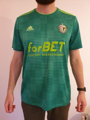 Meczowa oryginalna koszulka Śląsk Wrocław Adidas