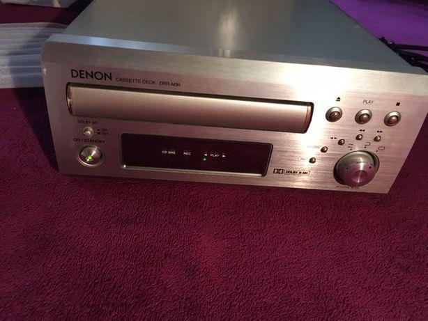 Gravador/Reprodução de audio cassetes Denon DDR-M30 c/ revisão feita