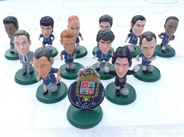 FC PORTO bonecos caricaturas jogadores Baia ,Quaresma - Completa 2005