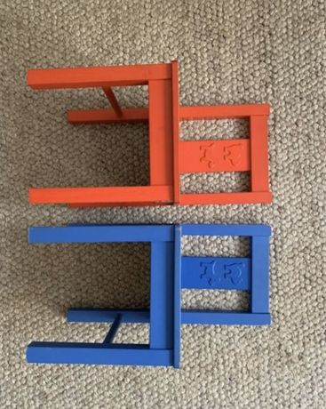 Kritter krzesełko Ikea krzesło niebieskie 30zł szt 1 zł wysyłka