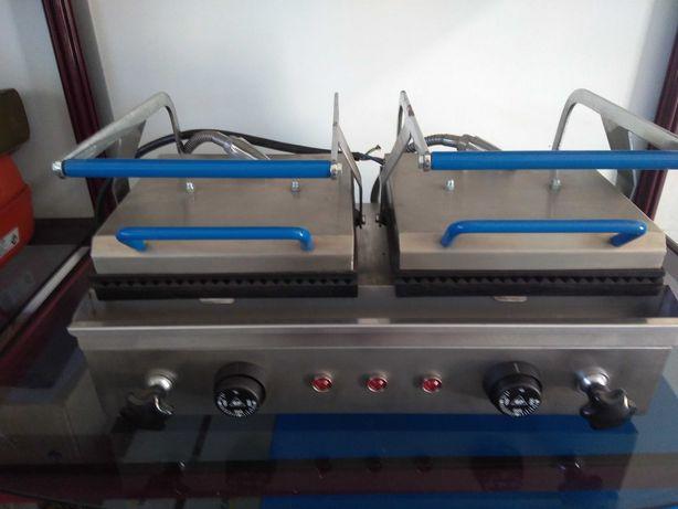 Tostadeira - Grelhador Industrial Mini Duplo