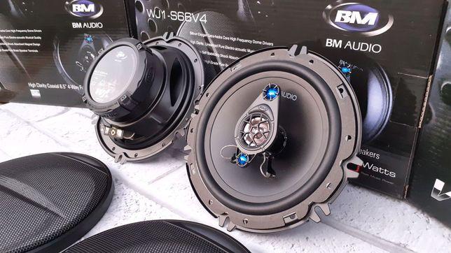Автоколонки Boschmann BM Audio WJ1-S66V4 16см 350W 4х-полосная Black