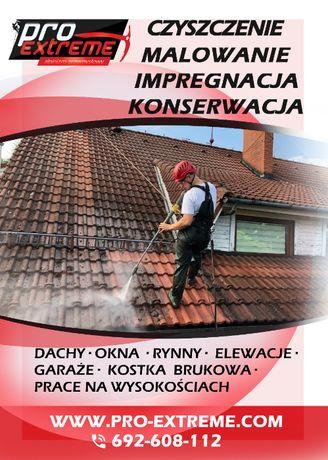 Dachówki, dachy, elewacje, okna, kostka brukowa