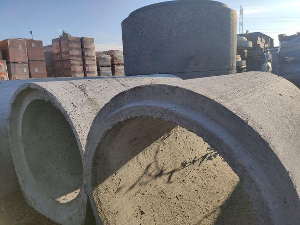 Dryna betonowa kompletne odwodnienia przepust betonowy rozładunek HDS
