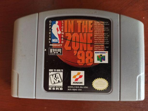 Gra Nintendo 64 N64 - NBA in the Zone '98 - NTSC cartridge