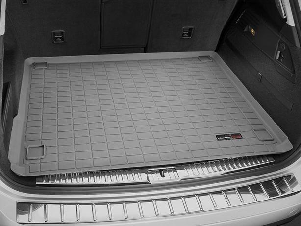 Коврик в багажник (WeatherTech) Volkswagen Touareg 2010-2018 год серый